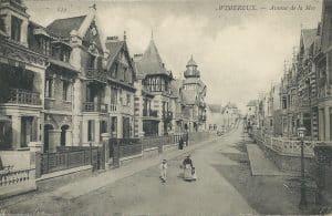 Avenue de la Mer à Wimereux