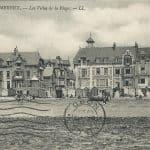 Villas de la plage de Wimereux en 1910