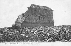 Fort de Croÿ à Wimereux en 1900