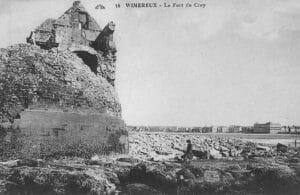 Wimereux vue depuis le Fort de Croy en 1920